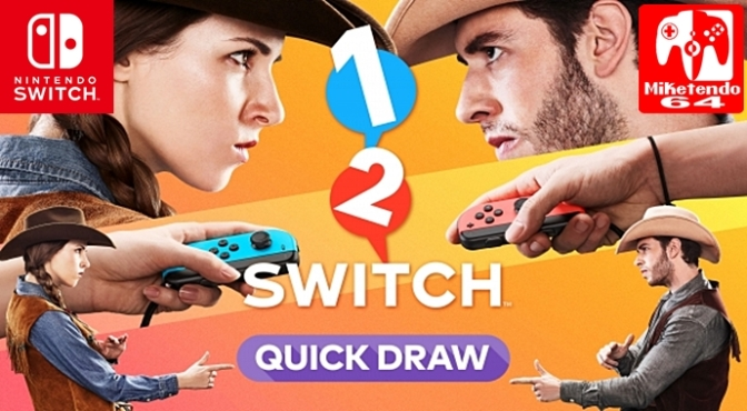(Video) 1-2 Switch: 28 Games to Play & We've got Videos for 18 of Them!