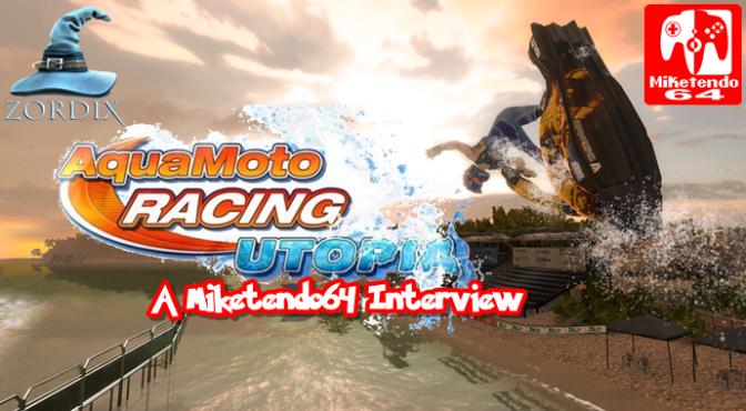 Zordix AB: A Miketendo64 Interview (Matti Larsson & Aqua Moto Racing Utopia)