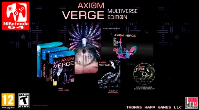BadLand Games are Bringing Axiom Verge to Wii U in Physical Form
