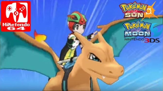 (Random) Charizard is the Next Pokémon to be distributed to Sun & Moon