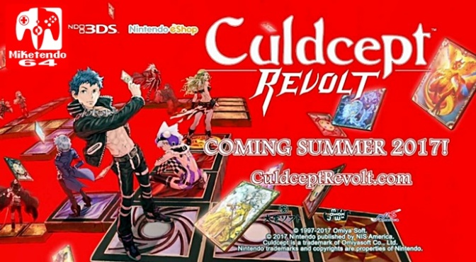 NIS America are also Bringing Culdcept Revolt also to the West!
