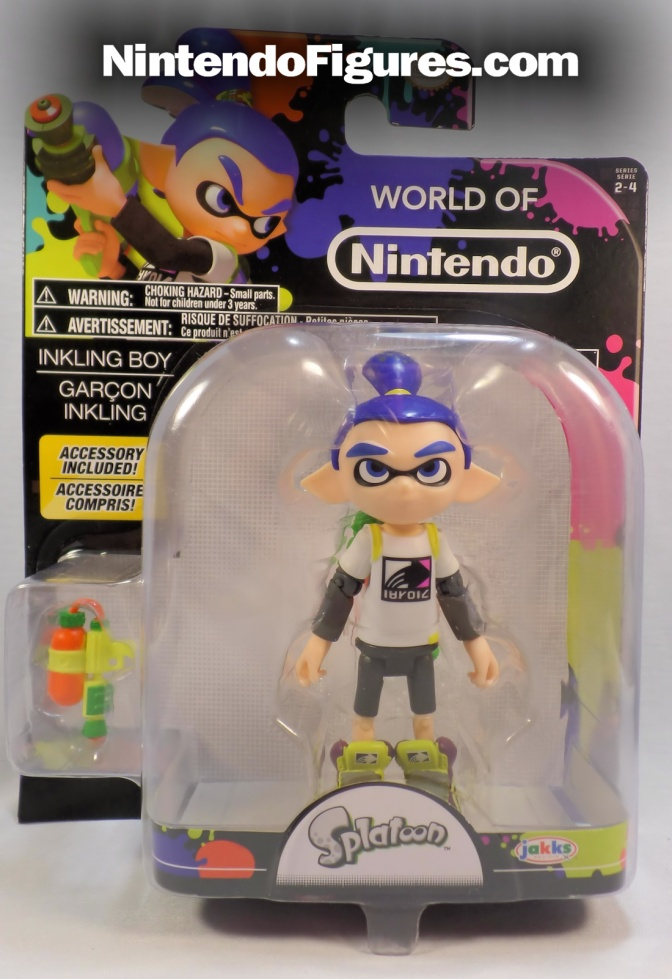 Inkling Kid World of Nintendo 4″ Inch Figure Review