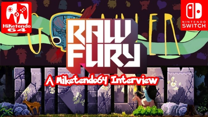 Raw Fury: A Miketendo64 Interview (Part 2: Kingdom, GoNNER & Switch)