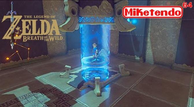 New Zelda: Breath Of The Wild Screenshot Uploaded To Zelda Facebook Page