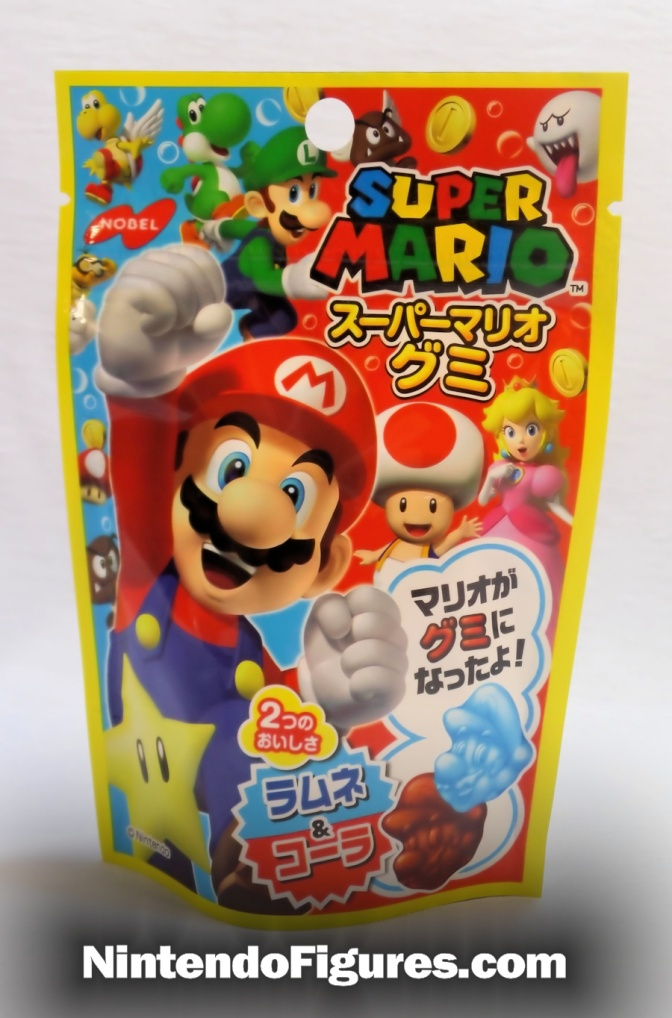 Nobel Super Mario Cola Gummies Review
