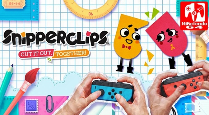 Snipperclips Will have a Playable Demo, Available as a Special Bundle & Launches in all Regions on March 3rd