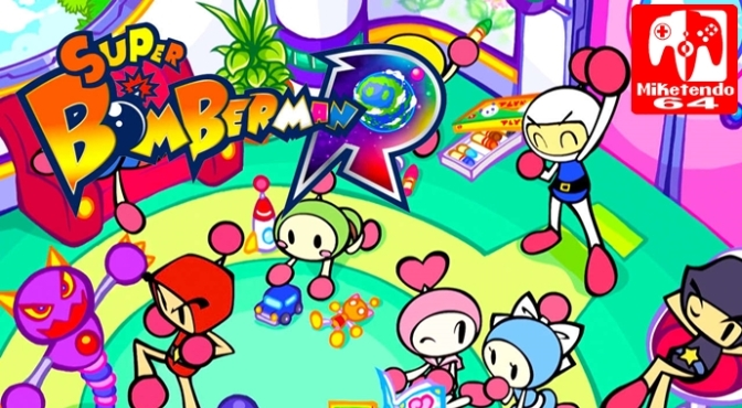 Super Bomberman R Concept Art Shared On Konami European Twitter Account