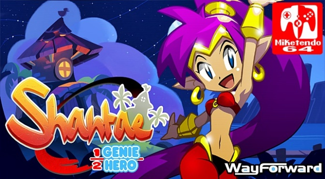 Switch Teases & Update 1.01 is Coming Soon to Shantae: Half-Genie Hero
