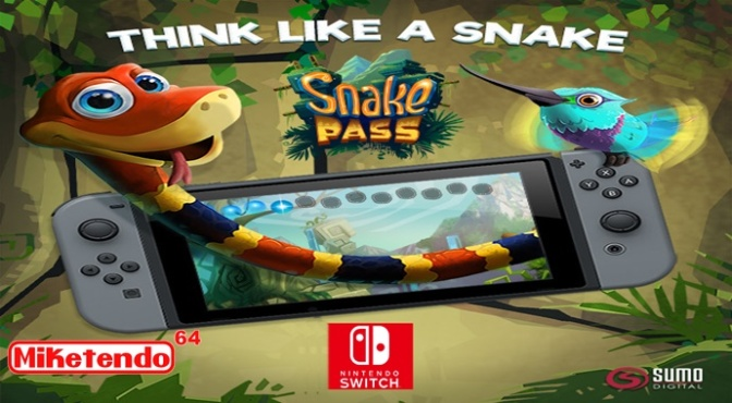 Snake Pass is Slithering its Way to the Nintendo Switch!