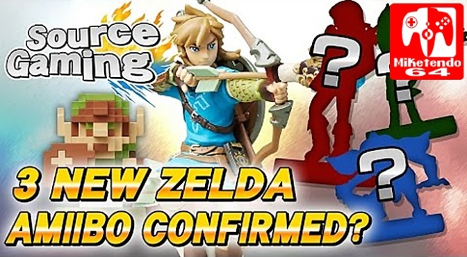 New Amiibo Data Found In Breath Of The Wild Executable File According To Source Gaming