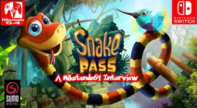 Sumo Digital: A Miketendo64 Interview (Talking Snake Pass with Seb Liese)