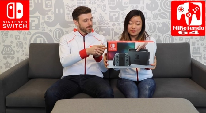 (Video) Nintendo Minute Switch Unboxing Video