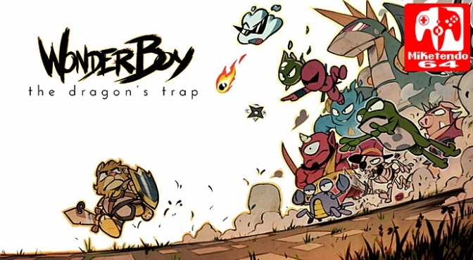 Wonder Boy Launches on Switch, PlayStation 4 & Xbox One on April 18th