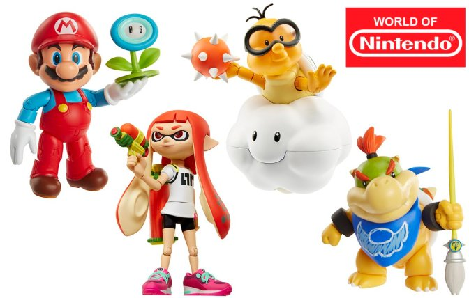 New World of Nintendo Figures Spotted!
