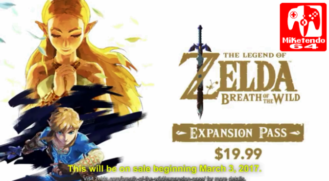 DLC Planned For Zelda: Breath Of The Wild (Expansion Pass Brings Goodies Day One)