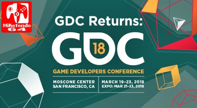 Dates for GDC 2018 have Been Announced
