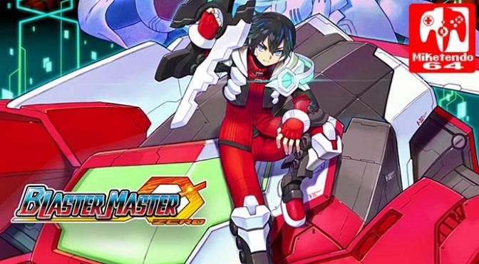 Blaster Master Zero Gunvolt DLC Shown During Live Stream