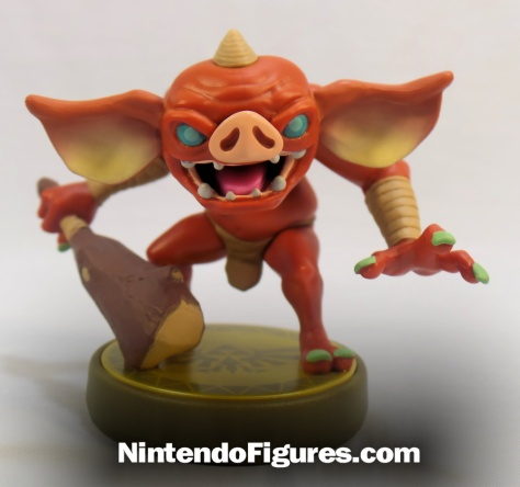 Bokoblin Zelda Breath of the Wild Amiibo Front