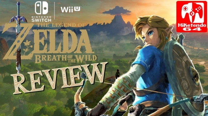 [Review] Diving Head First Into Adventure (The Legend of Zelda: Breath of the Wild)