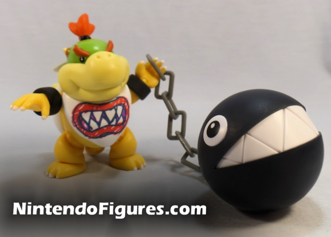 Chain Chomp 2.5″ Figure World of Nintendo Review