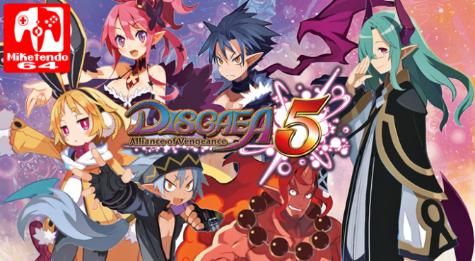 NIS America Share New Disgaea 5 Complete Screenshots & Opening Movie