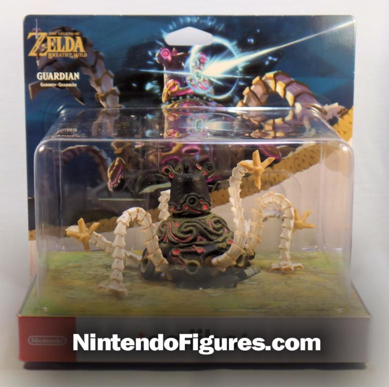 Guardian Zelda Breath of the Wild Amiibo Box