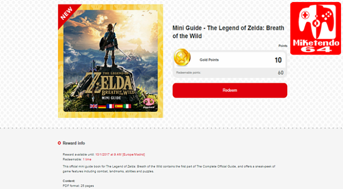 New Breath of the Wild Mini-Guide has been Added to My Nintendo