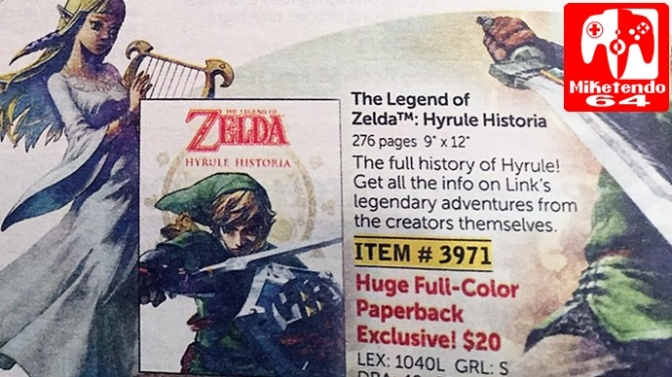 (Random) Hyrule Historia Paperback Version Found At Kindergarten Fair