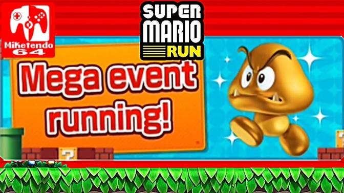 Super Mario Run Gold Goomba Event Now Live!