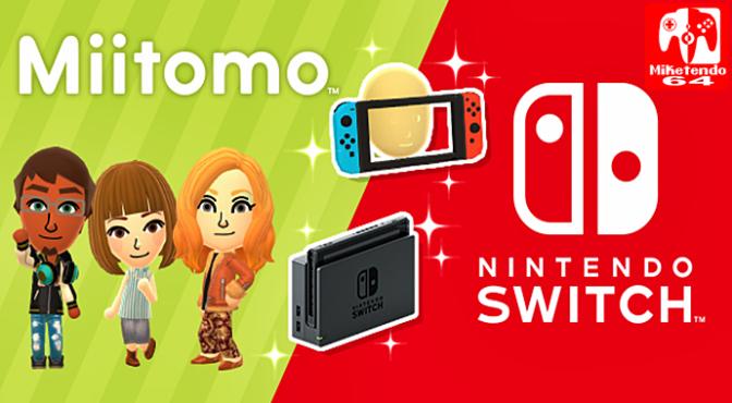 Miitomo Switch! (A Miitomo/ Nintendo Switch Collaboration)