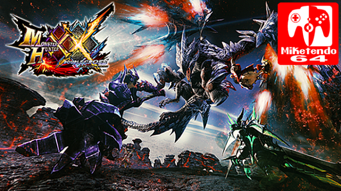 Monster Hunter XX Update Patch 1.1.0 Now Available. Fixes Weapon Crafting Bug & Changes Save Data Process
