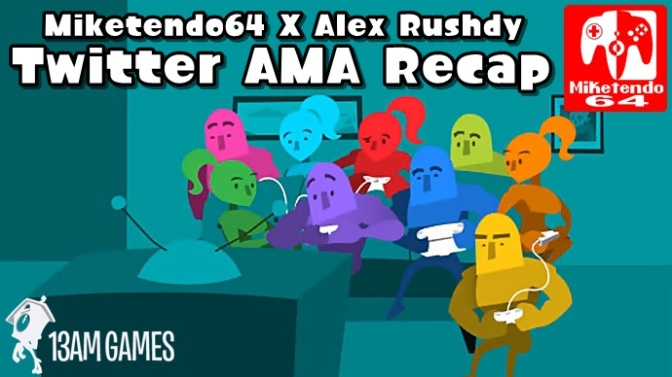[Interview] Miketendo64 Twitter Based AMA with 13AM Games' Alex Rushdy Recap