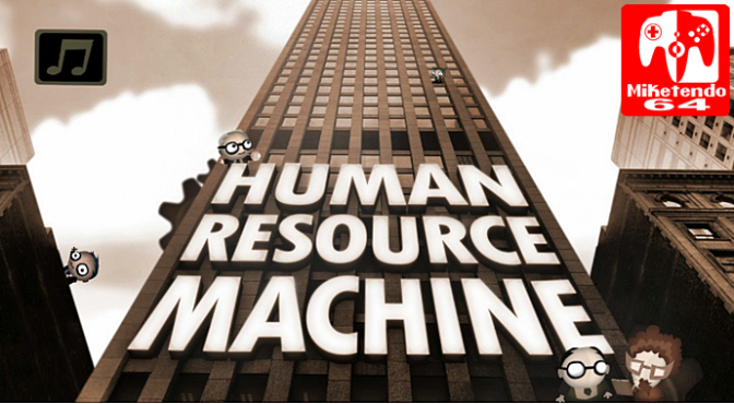 [Review] Putting the Worker Bees to Work with Human Resource Machine
