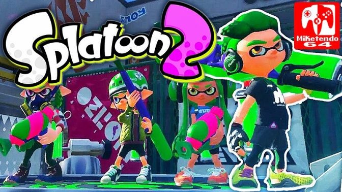 [Feature] Splatoon 2's Totally Inkredible Wet Floor