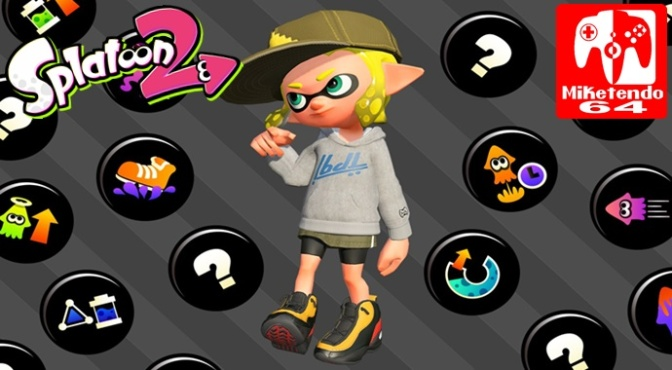 Splatoon 2 Will Also Feature Gear