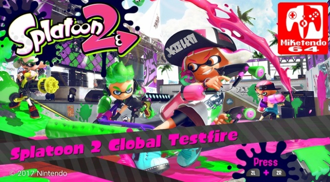 [Feature] Splatoon 2 Global Testfire First Impressions