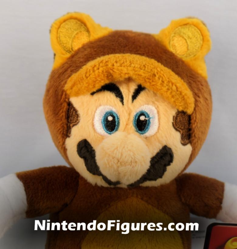 Tanooki Mario World of Nintendo Plush Face