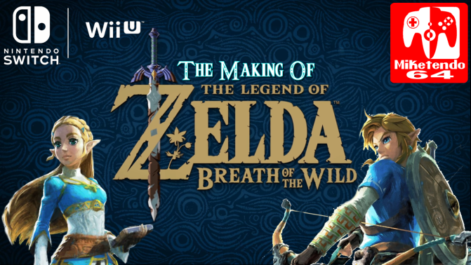 "(Video) The Making Of Zelda: Breath Of The Wild ""Bonus Session"""