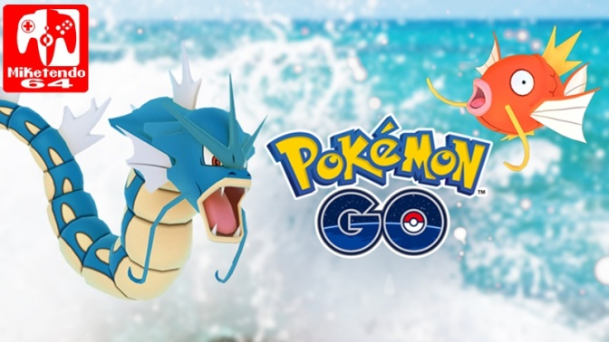 Pokémon GO's Water Festival Sees 589 Million Magikarp Caught
