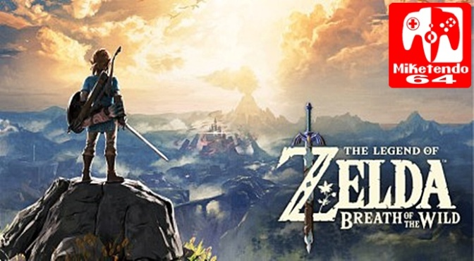 Zelda: Breath Of The Wild Makes Nintendo's Million Sellers List For Switch (Just Misses Top 10 For Wii U)
