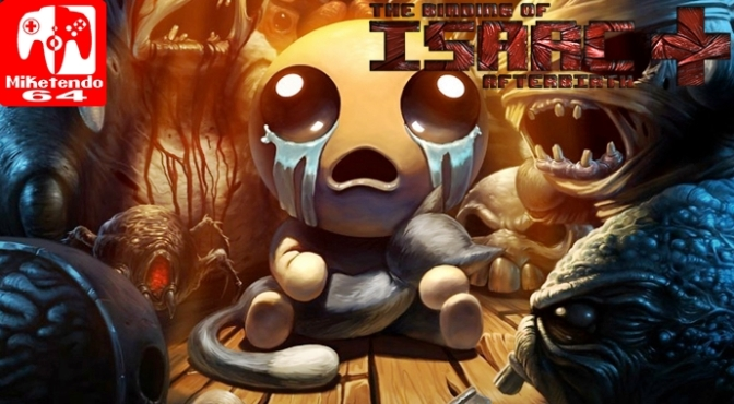 [Random] Nicalis Reveals New Switch Boxart for The Binding of Isaac: Afterbirth+