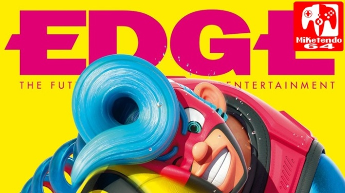 ARMS Becomes The Main Feature For Next Issue Of EDGE Magazine. Covering Origins, Game Balance & More!