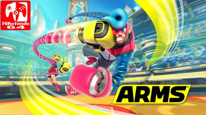 ARMS Character Profiles Now Listed On Official Website