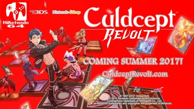 [Press Release] Culdcept Revolt Features Free Day 1 DLC, but you'll Need to Act Now to Get it!