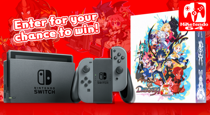 """NIS America's """"The Great Disgaea Switch-Stakes"""" Begins! (North America Only)"""