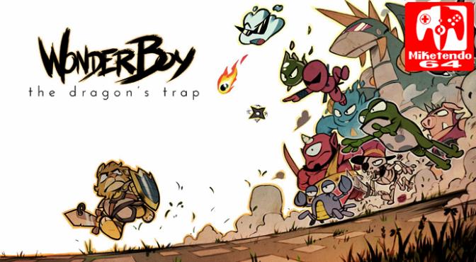 Wonder Boy: The Dragon's Trap Arrives on Switch!