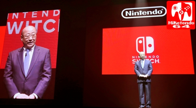 Kimishima on SNES Mini & Unannounced Switch Games