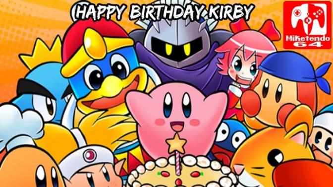 Happy 25th Birthday Kirby! My Nintendo Japan Now Offers 3DS Kirby Theme