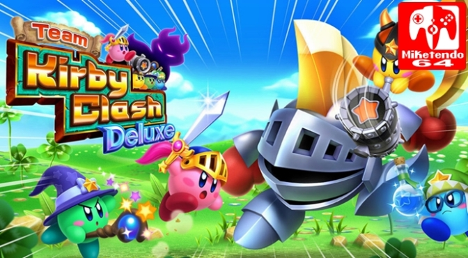 [Review] Sending Four Kirbys to War with Team Kirby Clash Deluxe