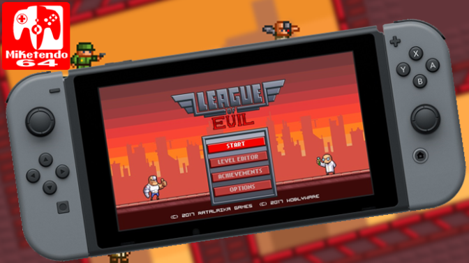 League Of Evil Coming To Switch, May No Longer Be Coming To Wii U
